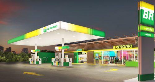 Posto BR Petrobras/Divulgação